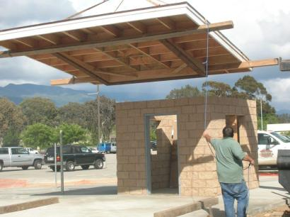 Nordhoff Ticket Booth Project