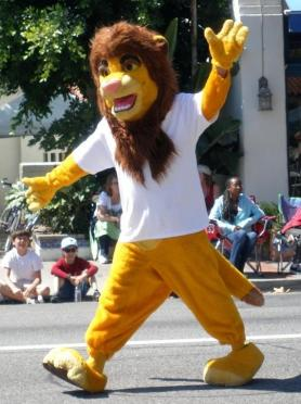 4th of July Parade- Our Mascot