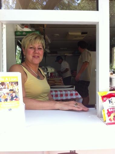 Ojai Day Food Booth